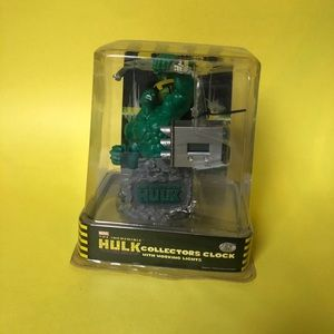 COLLECTORS Marvel 2003 Hulk Clock